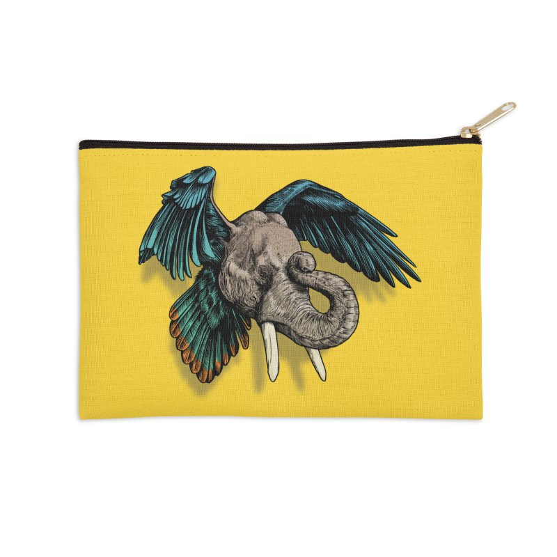 Rooktophant Accessories Zip Pouch by Octophant's Artist Shop