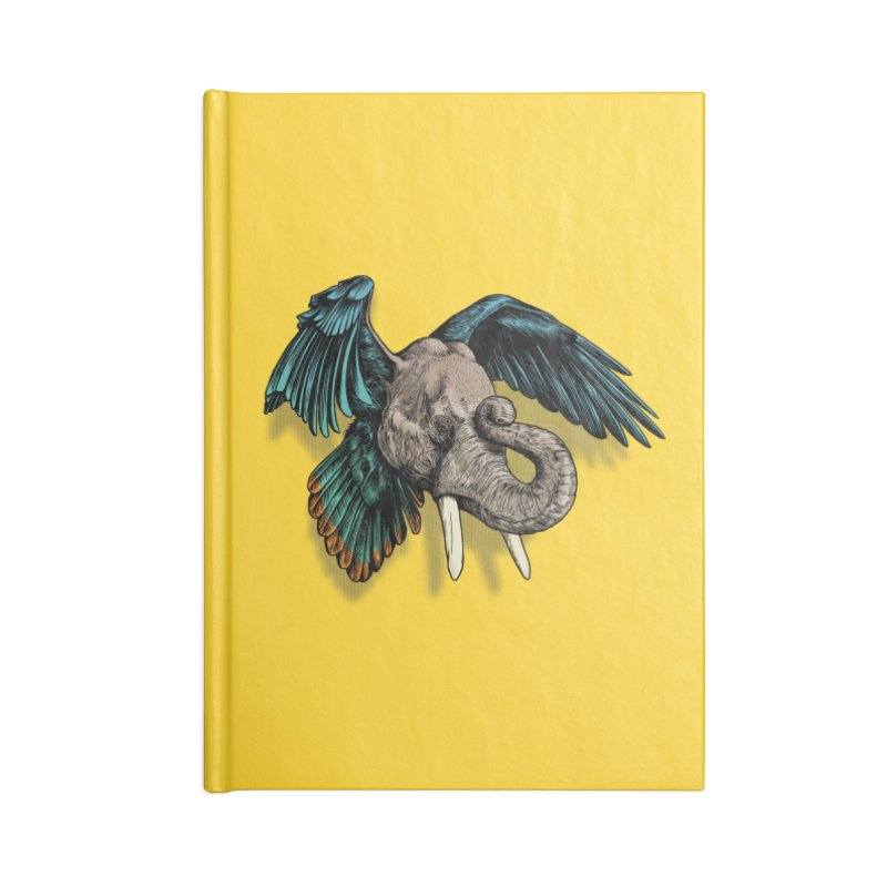 Rooktophant Accessories Notebook by Octophant's Artist Shop