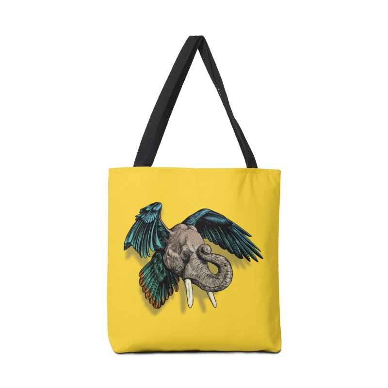 Rooktophant Accessories Bag by Octophant's Artist Shop