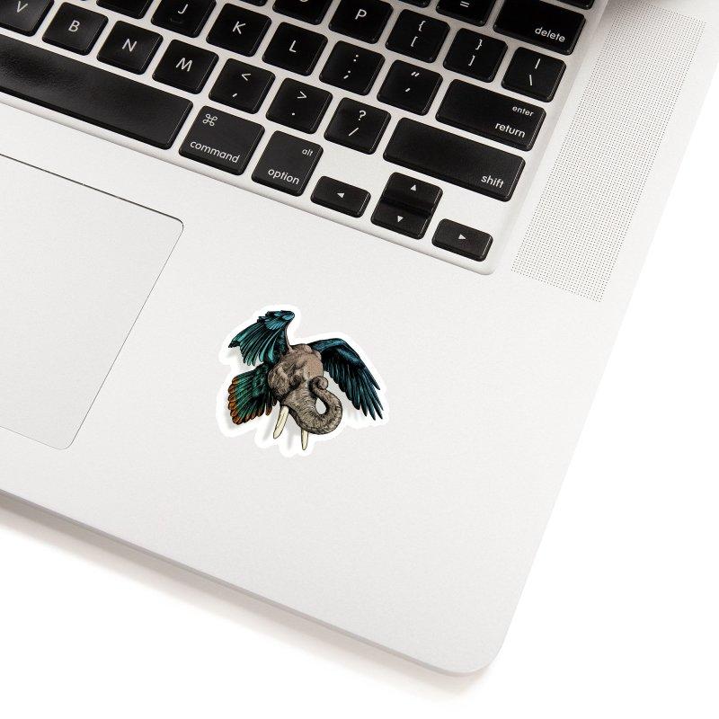 Rooktophant Accessories Sticker by Octophant's Artist Shop