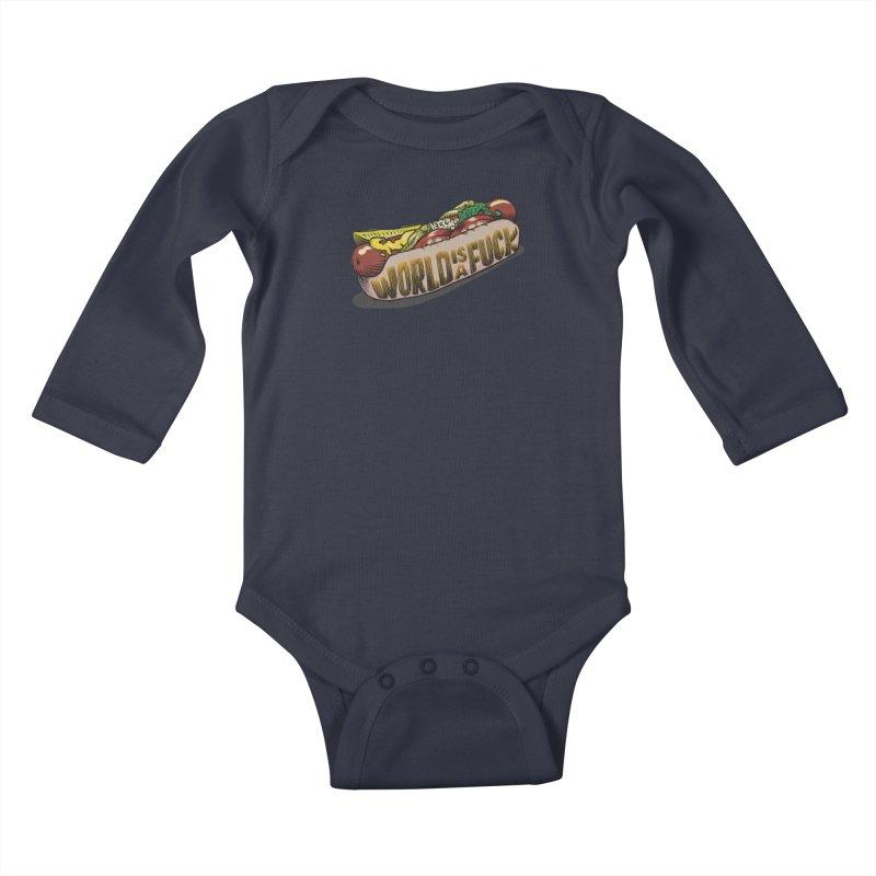 Hot Dog 2020 Kids Baby Longsleeve Bodysuit by Octophant's Artist Shop