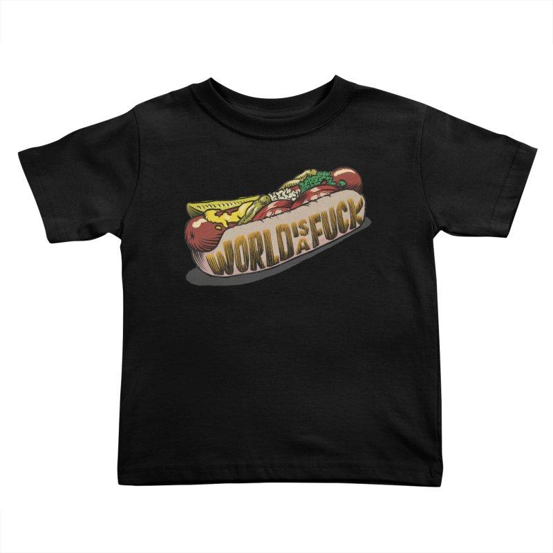 Hot Dog 2020 Kids Toddler T-Shirt by Octophant's Artist Shop
