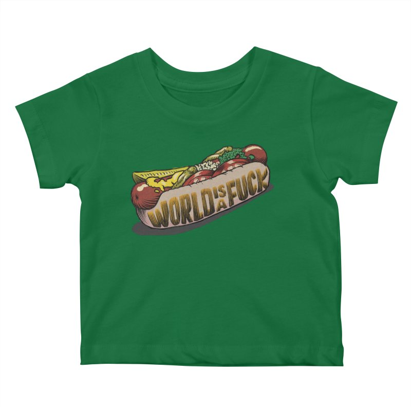 Hot Dog 2020 Kids Baby T-Shirt by Octophant's Artist Shop