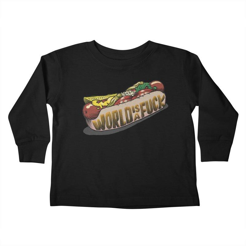 Hot Dog 2020 Kids Toddler Longsleeve T-Shirt by Octophant's Artist Shop