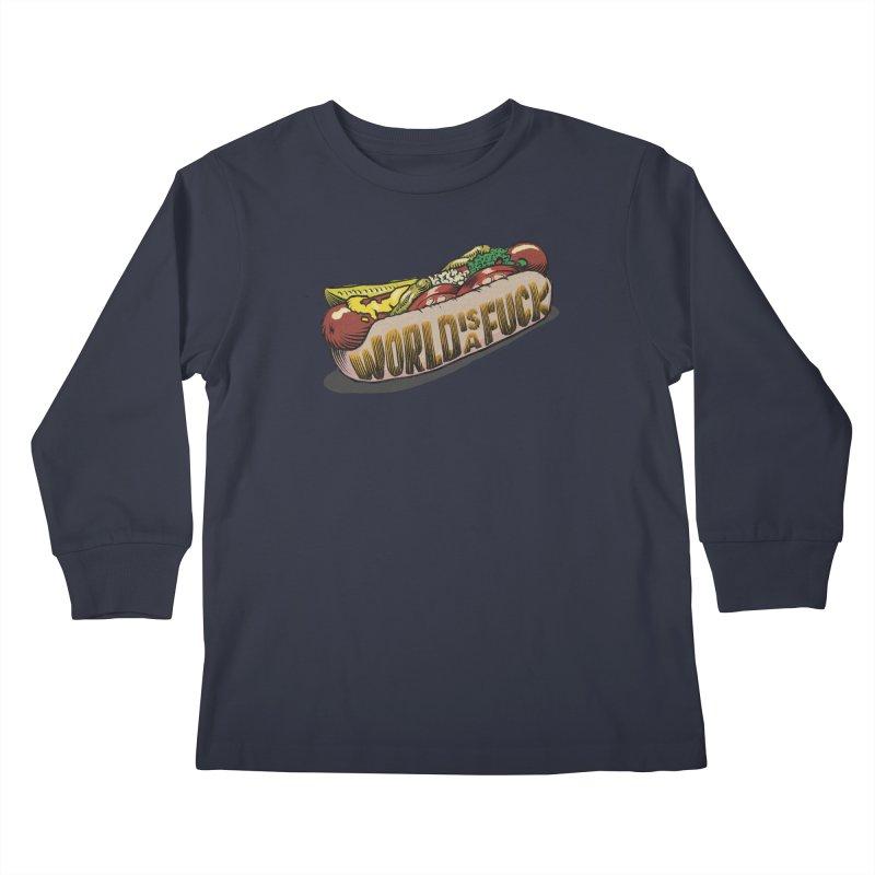 Hot Dog 2020 Kids Longsleeve T-Shirt by Octophant's Artist Shop