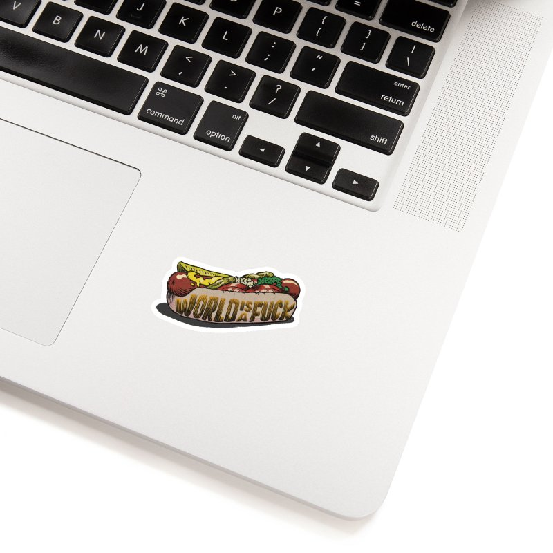Hot Dog 2020 Accessories Sticker by Octophant's Artist Shop