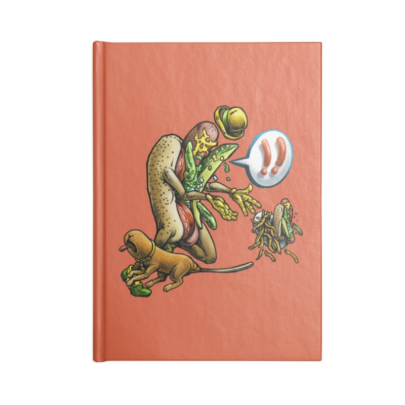 Trippin' Dog Accessories Notebook by Octophant's Artist Shop