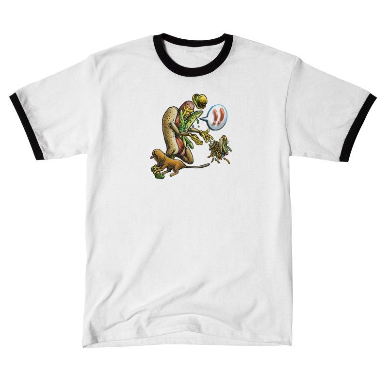 Trippin' Dog Women's T-Shirt by Octophant's Artist Shop