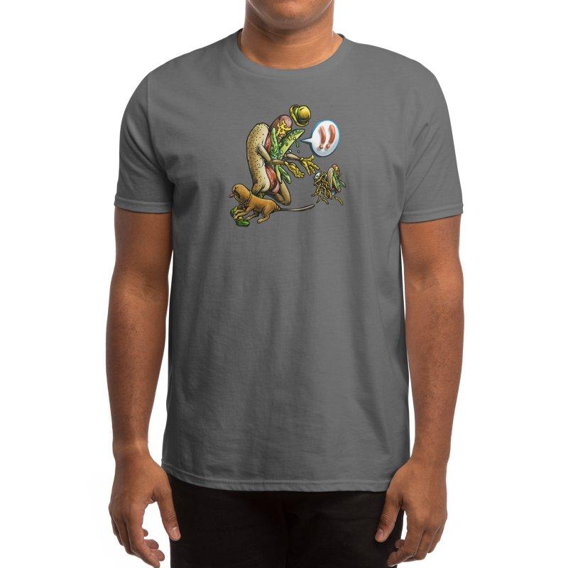 Trippin' Dog Men's T-Shirt by Octophant's Artist Shop