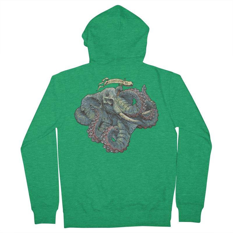 Metra Octophant  Women's Zip-Up Hoody by Octophant's Artist Shop