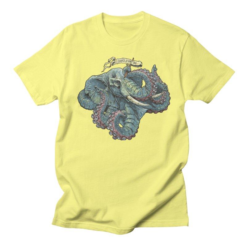 Metra Octophant  Men's T-shirt by Octophant's Artist Shop