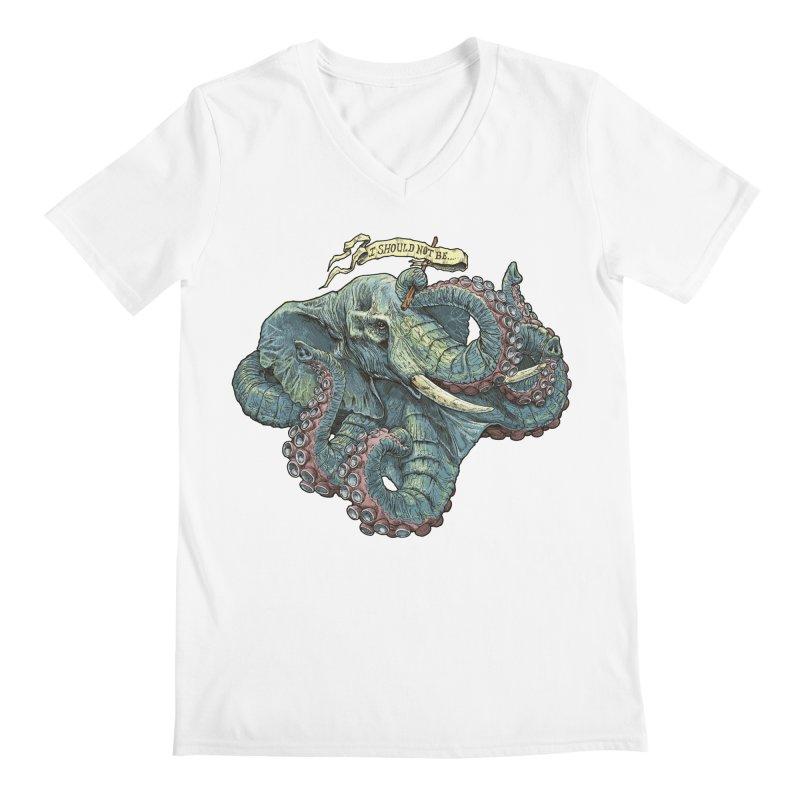 Metra Octophant  Men's V-Neck by Octophant's Artist Shop