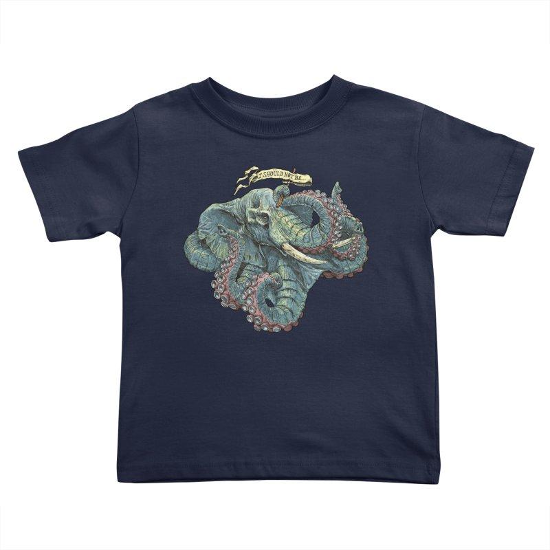 Metra Octophant  Kids Toddler T-Shirt by Octophant's Artist Shop