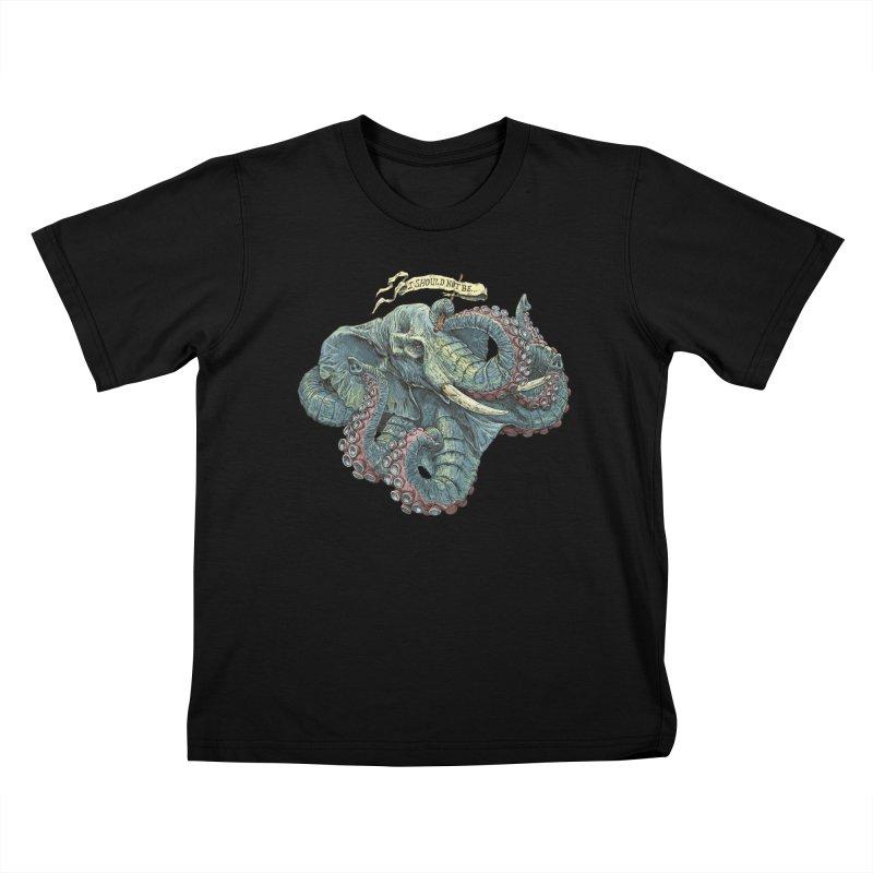Metra Octophant  Kids T-shirt by Octophant's Artist Shop