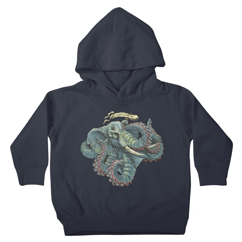 Metra Octophant  Kids Toddler Pullover Hoody by Octophant's Artist Shop