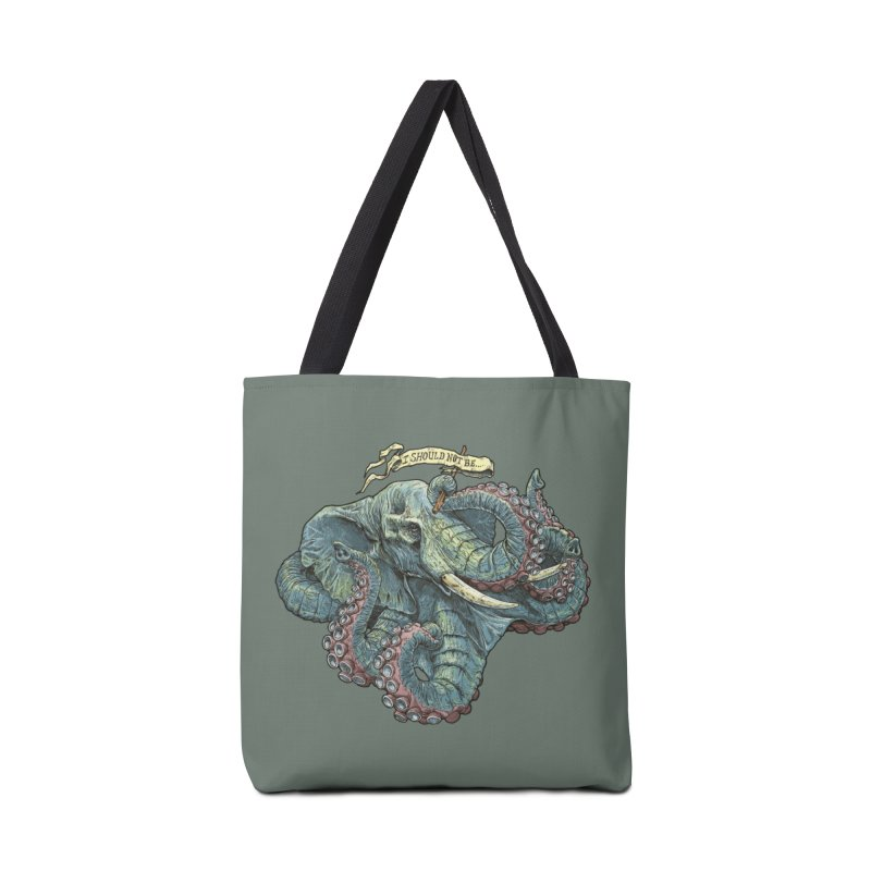 Metra Octophant  Accessories Bag by Octophant's Artist Shop