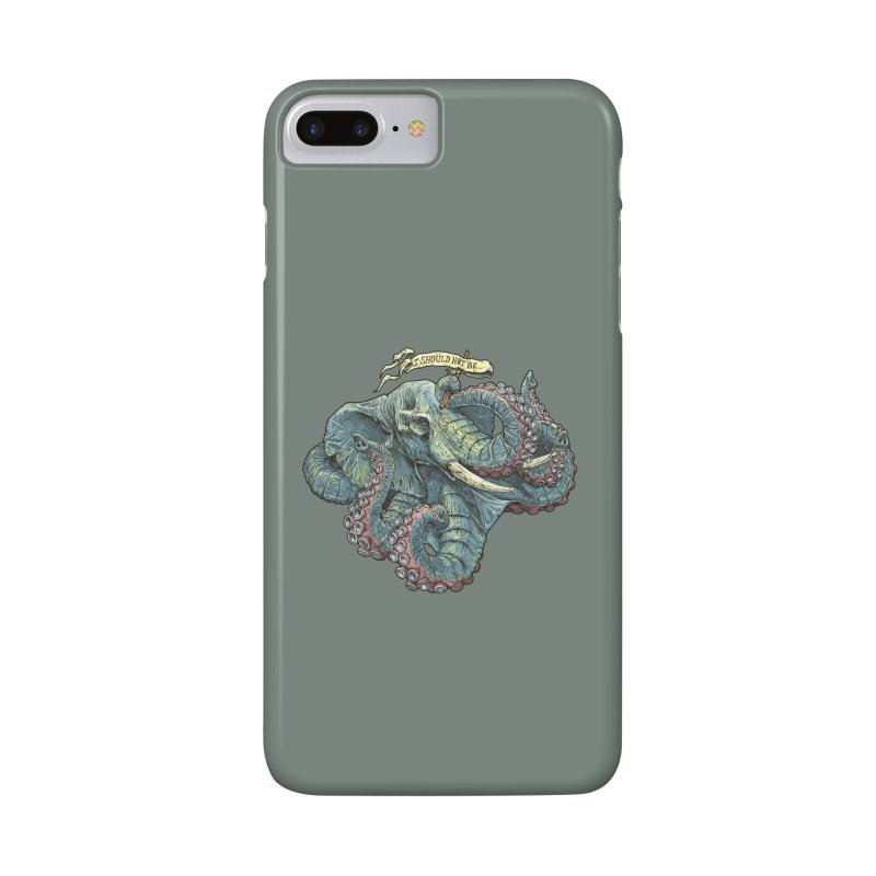Metra Octophant  Accessories Phone Case by Octophant's Artist Shop
