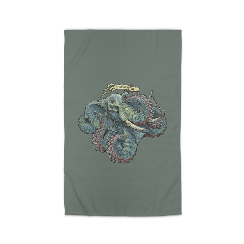 Metra Octophant  Home Rug by Octophant's Artist Shop