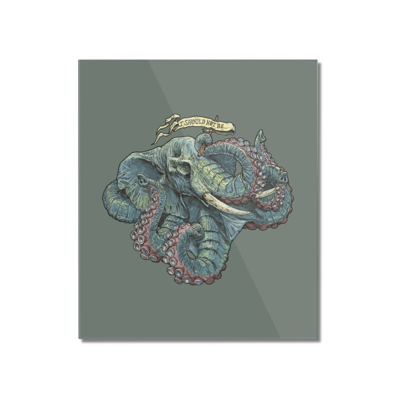 Metra Octophant  Home Mounted Acrylic Print by Octophant's Artist Shop