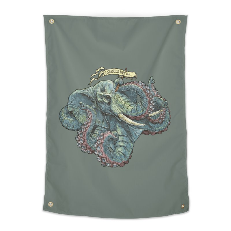 Metra Octophant  Home Tapestry by Octophant's Artist Shop
