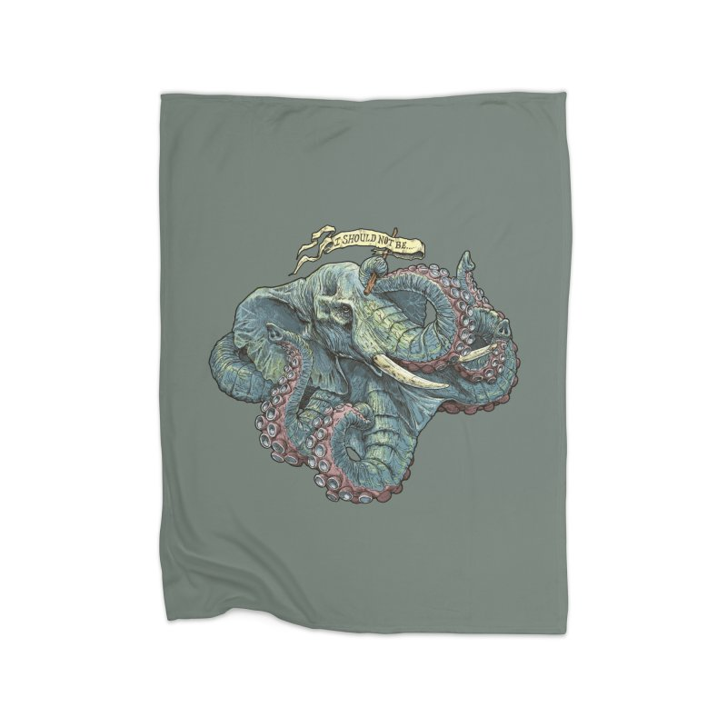 Metra Octophant  Home Blanket by Octophant's Artist Shop