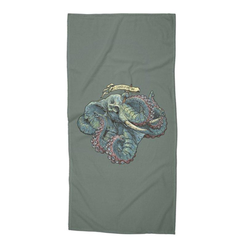 Metra Octophant  Accessories Beach Towel by Octophant's Artist Shop