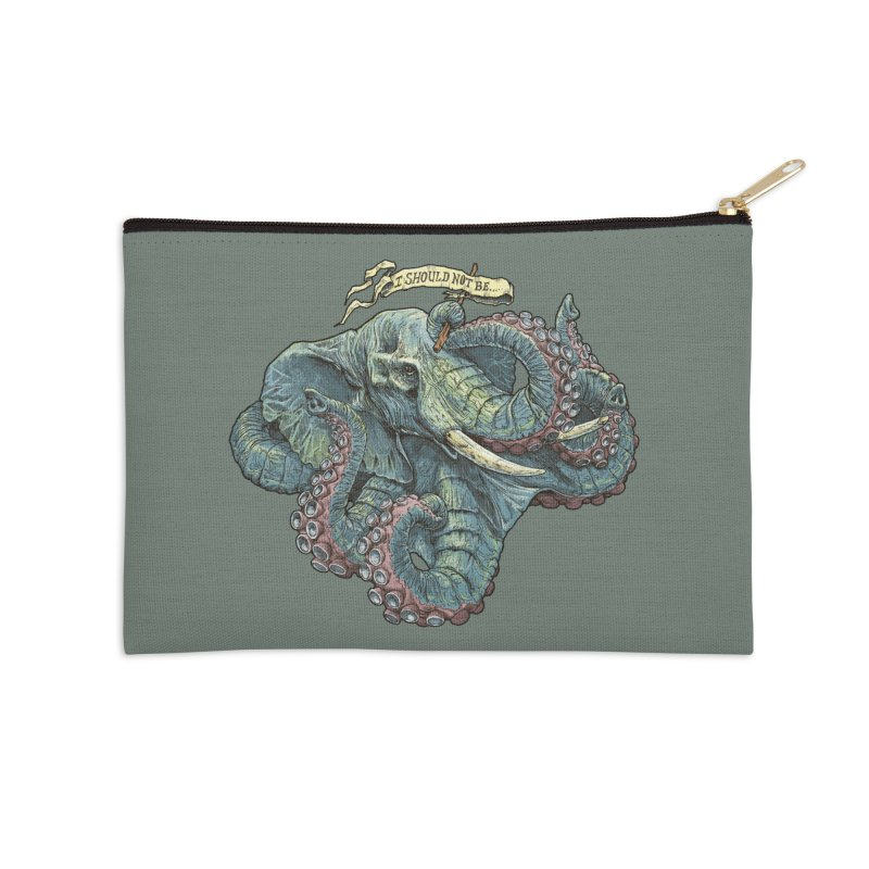Metra Octophant  Accessories Zip Pouch by Octophant's Artist Shop