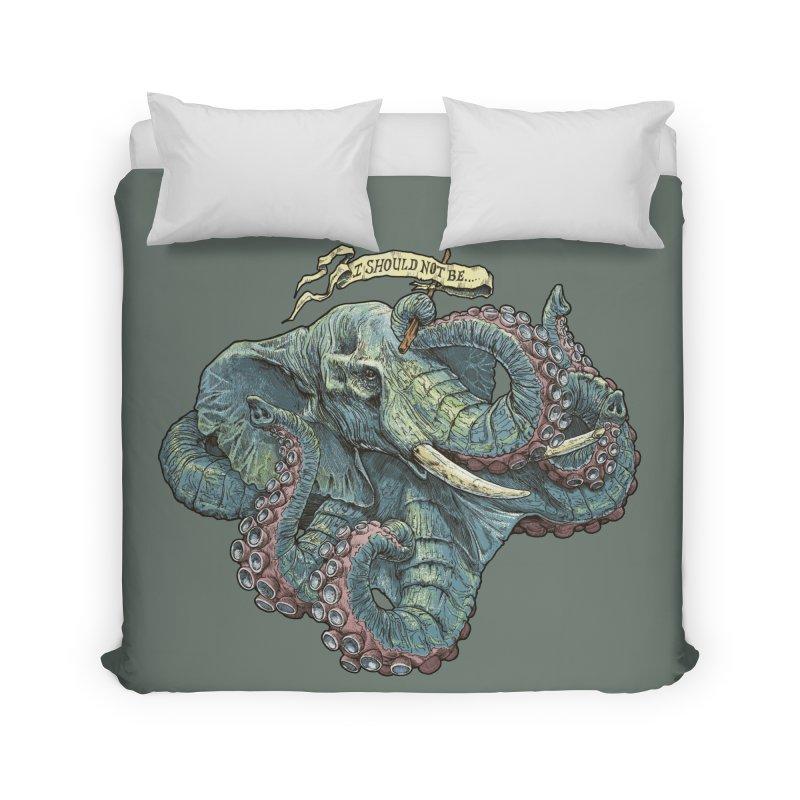 Metra Octophant  Home Duvet by Octophant's Artist Shop