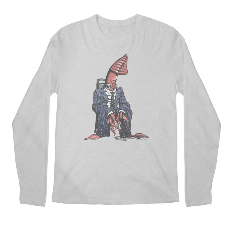 Squid Can't Win Men's Longsleeve T-Shirt by Octophant's Artist Shop