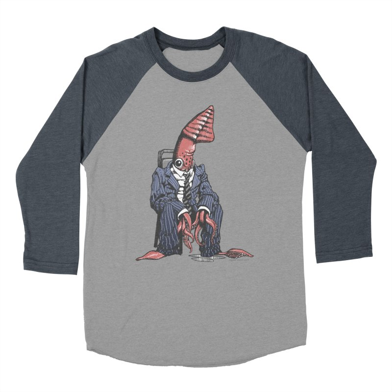 Squid Can't Win Men's Baseball Triblend T-Shirt by Octophant's Artist Shop