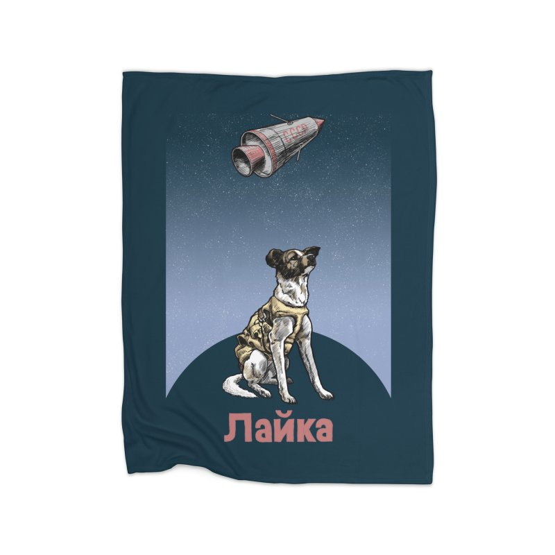 Laika Home Blanket by Octophant's Artist Shop