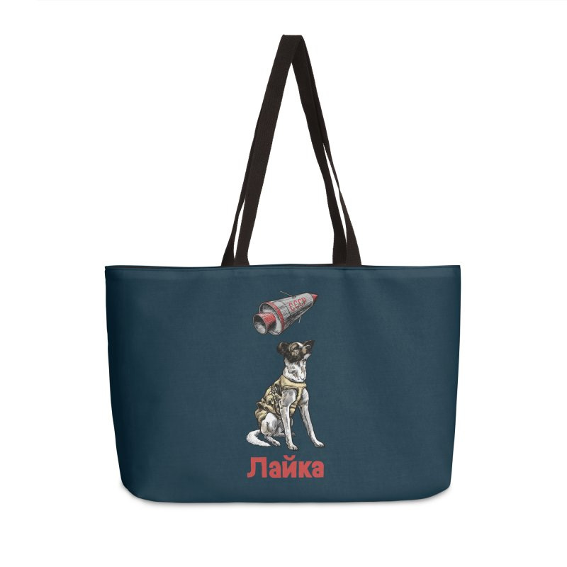 Laika Accessories Weekender Bag Bag by Octophant's Artist Shop
