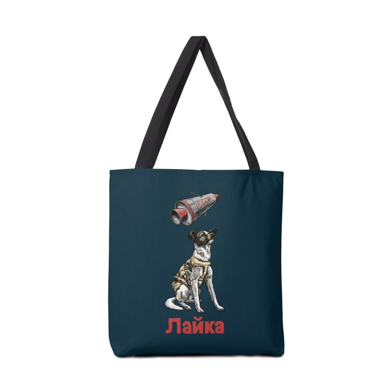 Laika Accessories Tote Bag Bag by Octophant's Artist Shop