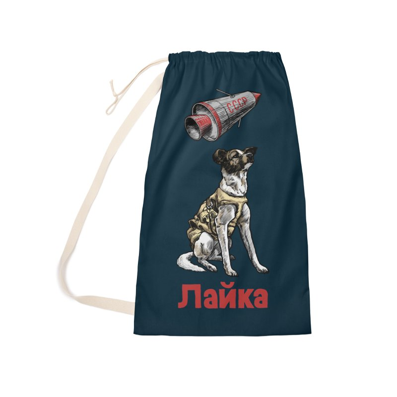 Laika Accessories Laundry Bag Bag by Octophant's Artist Shop