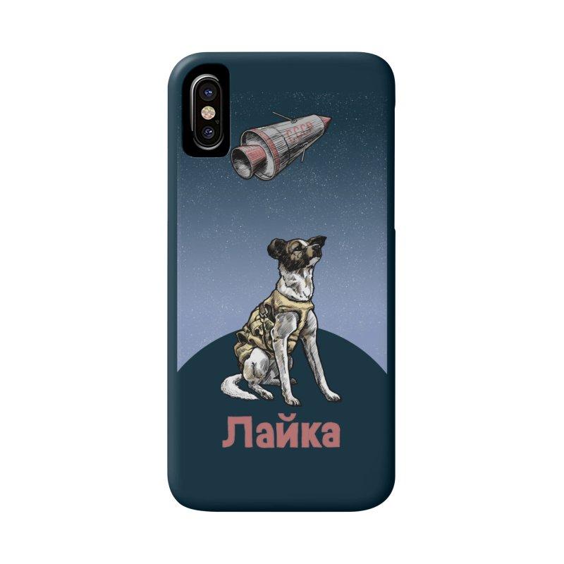 Laika Accessories Phone Case by Octophant's Artist Shop