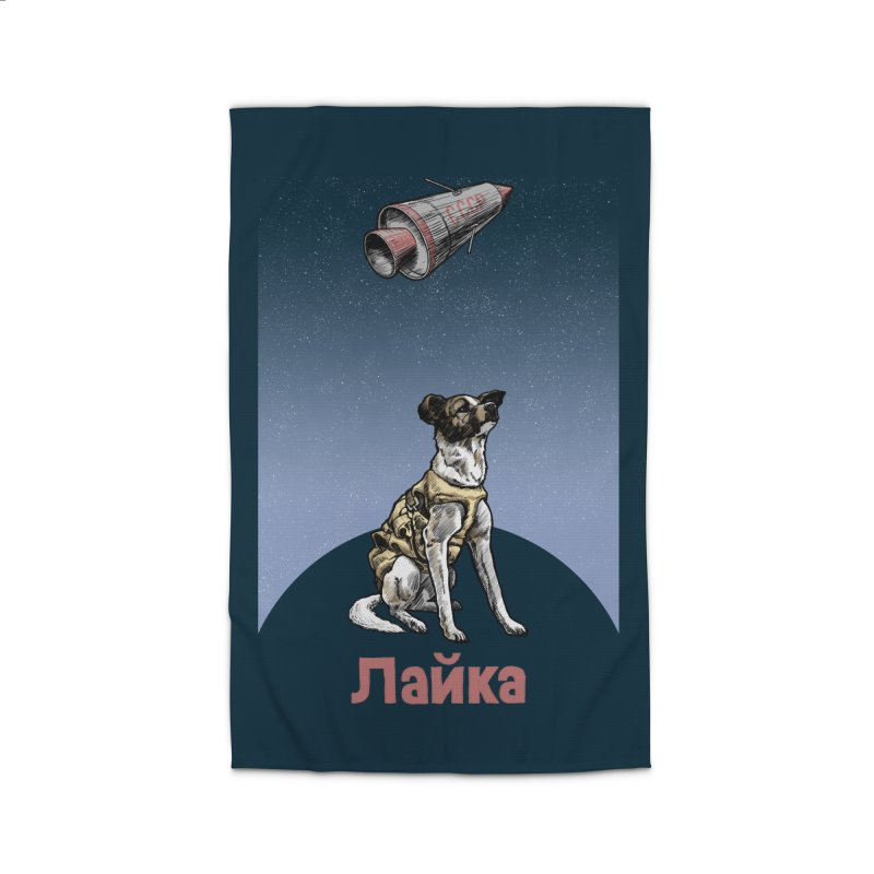 Laika Home Rug by Octophant's Artist Shop