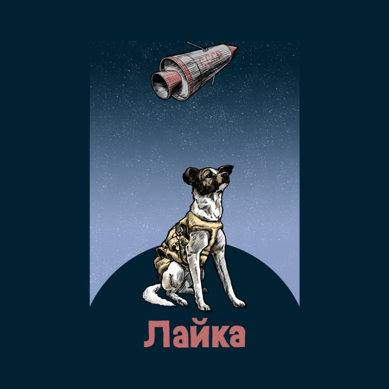 Laika Women's Sweatshirt by Octophant's Artist Shop