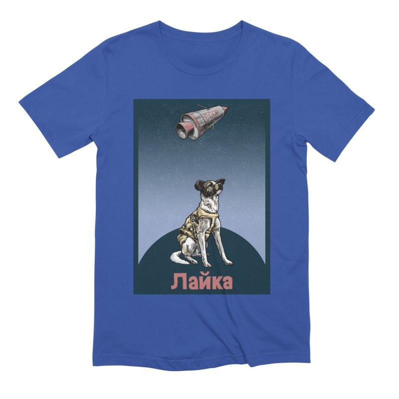 Laika Men's Extra Soft T-Shirt by Octophant's Artist Shop