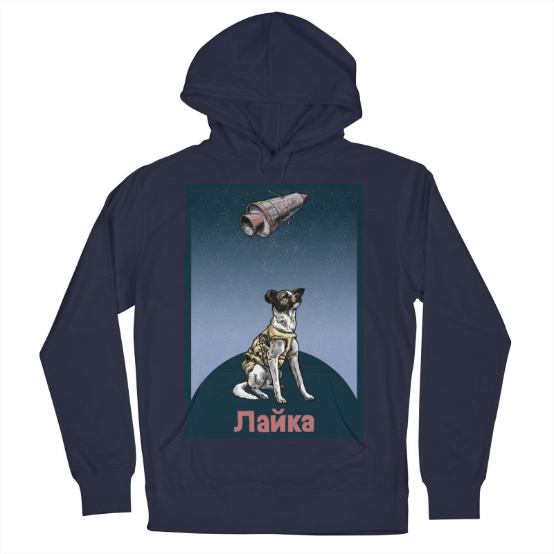 Laika Men's Pullover Hoody by Octophant's Artist Shop