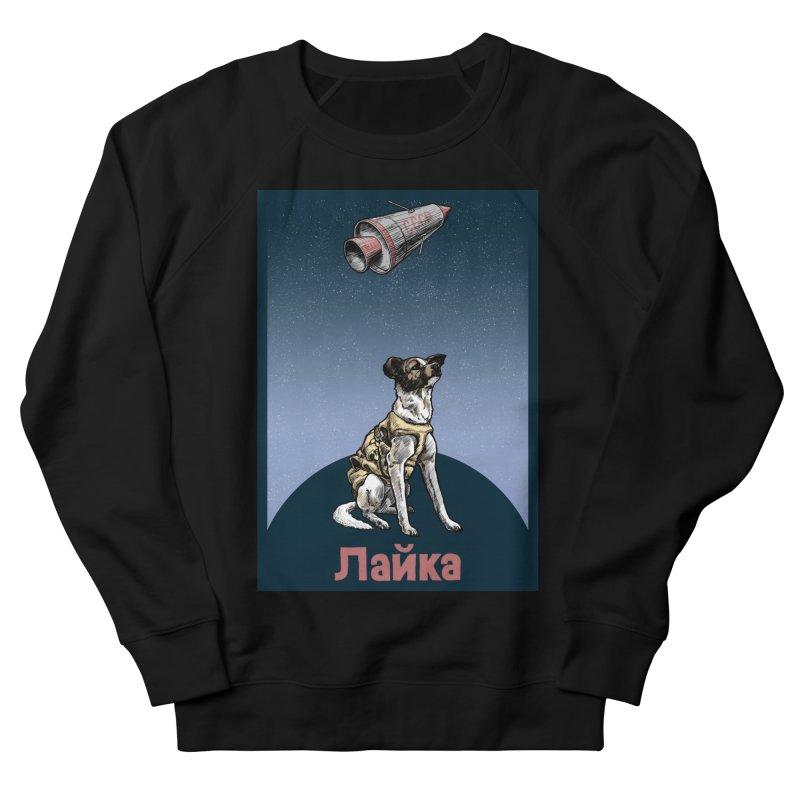 Laika Men's Sweatshirt by Octophant's Artist Shop