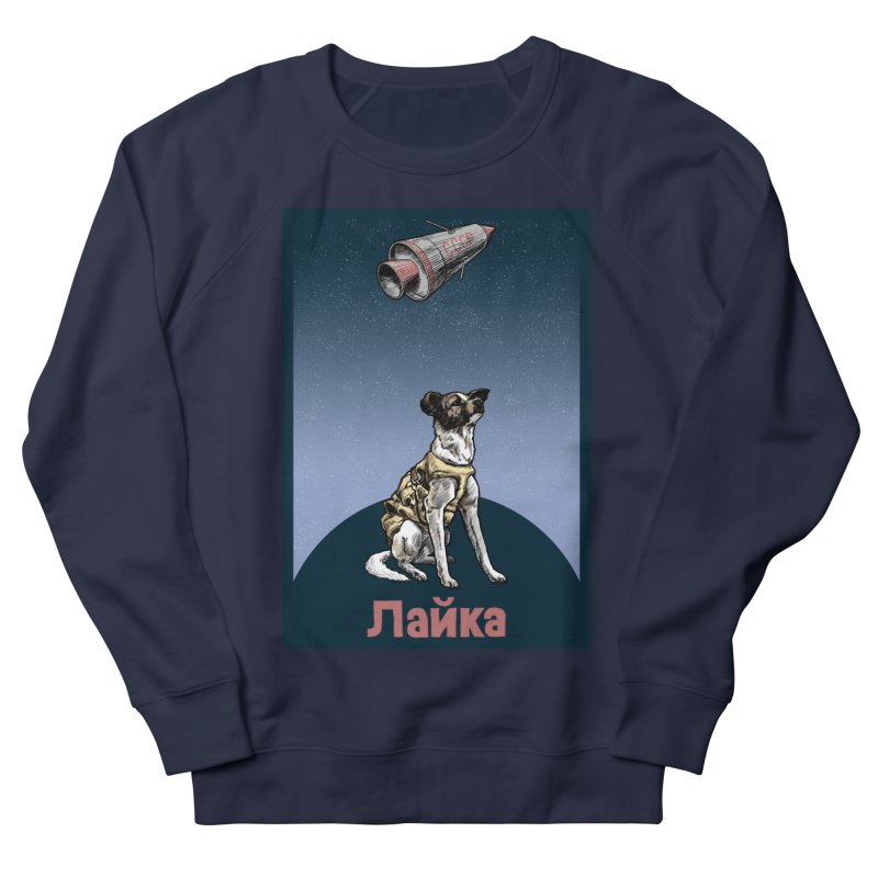Laika Men's Sweatshirt by Octophant's Artist Shop