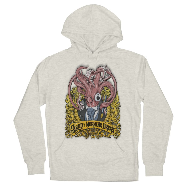 Squid in Morning Dress Women's Pullover Hoody by Octophant's Artist Shop