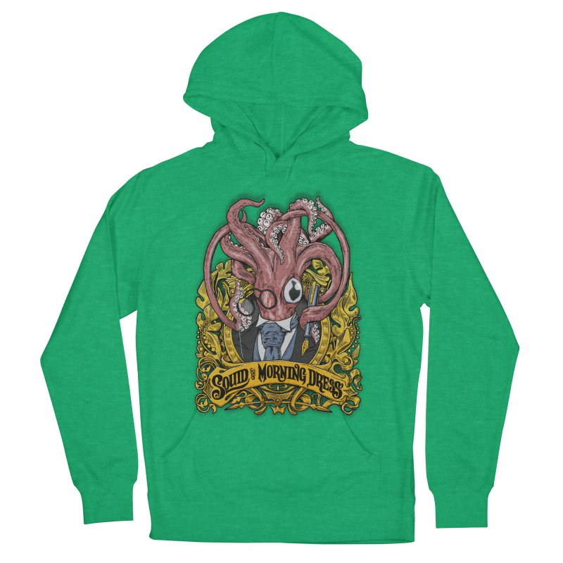 Squid in Morning Dress Men's Pullover Hoody by Octophant's Artist Shop