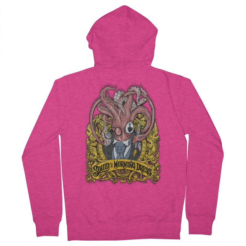 Squid in Morning Dress Women's Zip-Up Hoody by Octophant's Artist Shop