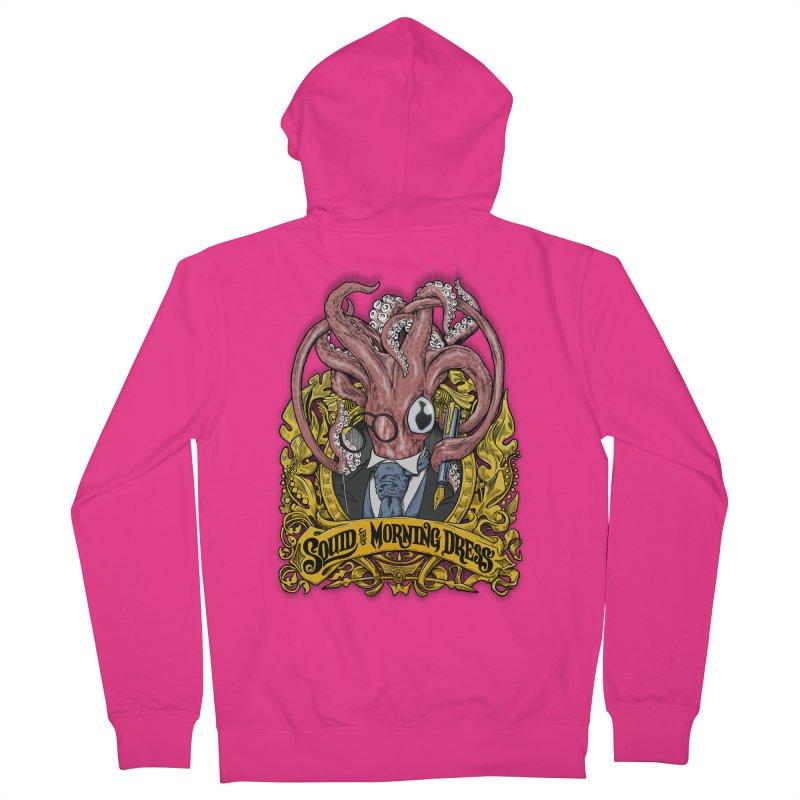 Squid in Morning Dress Men's Zip-Up Hoody by Octophant's Artist Shop