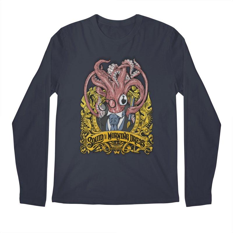 Squid in Morning Dress Men's Longsleeve T-Shirt by Octophant's Artist Shop