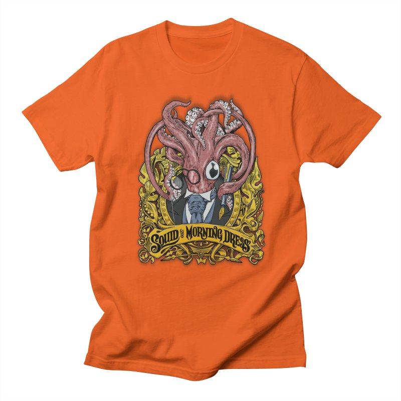 Squid in Morning Dress Men's T-shirt by Octophant's Artist Shop