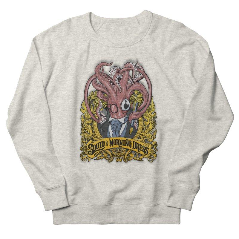 Squid in Morning Dress Men's Sweatshirt by Octophant's Artist Shop