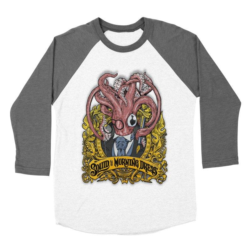 Squid in Morning Dress Women's Baseball Triblend T-Shirt by Octophant's Artist Shop