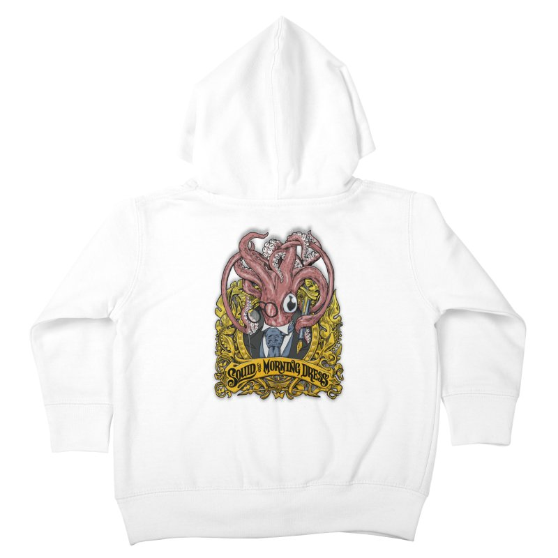 Squid in Morning Dress Kids Toddler Zip-Up Hoody by Octophant's Artist Shop